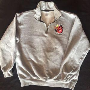 Women's Walt Disney World Sweatshirt 1/4 Zip Med.